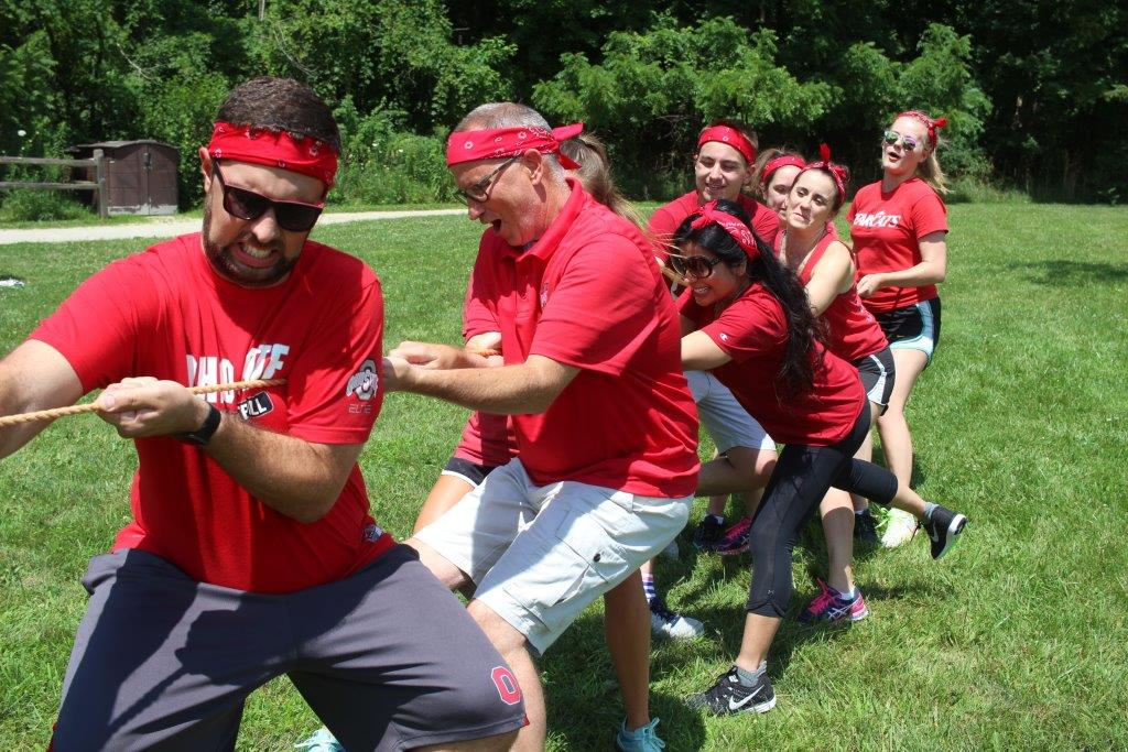 geoAMPS employees participate in annual Field Day
