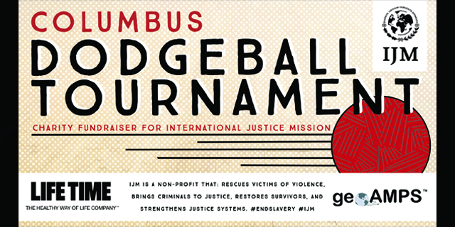 Columbus Dodgeball Press Banner